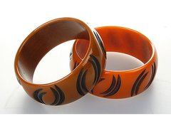 Pair of Bakelite Bracelets
