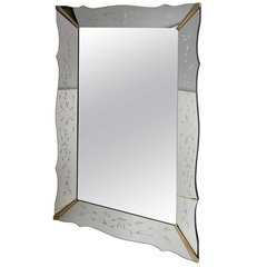 Vintage Venetian Style Mirror