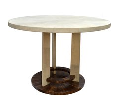 Round Shagreen R&Y Augousti Balthazar Table, Paris