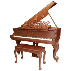 Story & Clark Baby Grand Piano with Bench