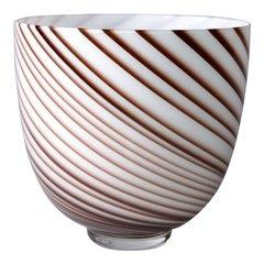 Original Tommaso Barbi Italian Murano Decorative Bowl / Vase