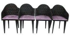 Saporiti Dining Chairs, Set/10