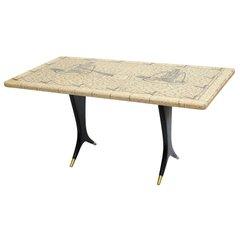 Piero Fornasetti Coffee Table