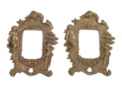 Bronze Frames w/ Angel Motifs, S/2