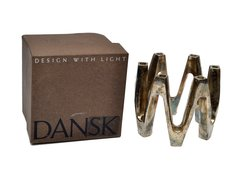 Jens Quistgaard Silverplate Crown Candle Centerpiece by Dansk