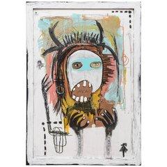"""Emilio Martinez """"I am not a Vandal"""" Painting"""