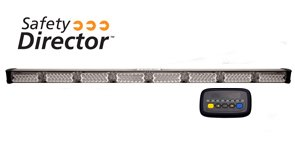 ECCO ED3300 Series Safety Director Amber LED's