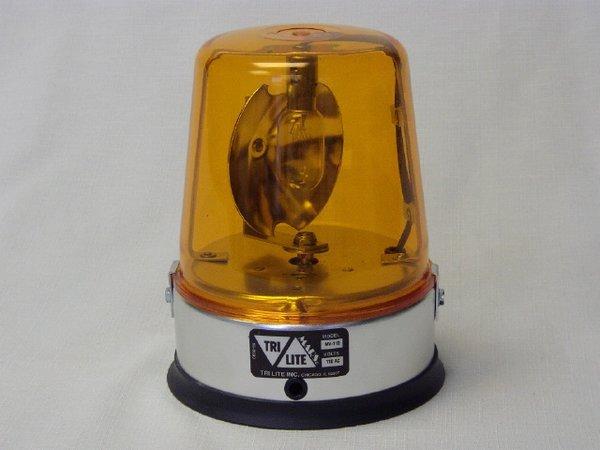Tri Lite MV2 110/120V AC Rotating Beacon Light