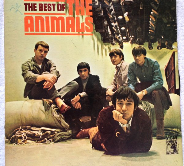 Animals The The Best Of The Animals Lp 33 Mgm E 4324