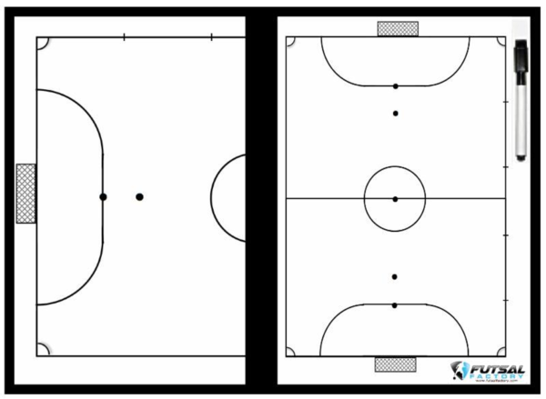 Deluxe Futsal Coaching Board