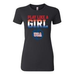 Play Like A Girl Tee