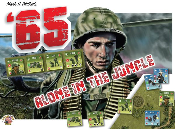 Solitaire Expansion for '65 Squad Level Gaming in the Jungles of Vietnam