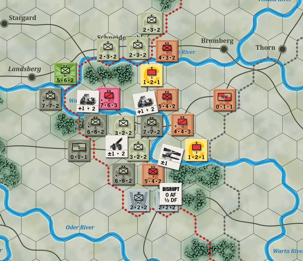 The Battle of the Warta River Line