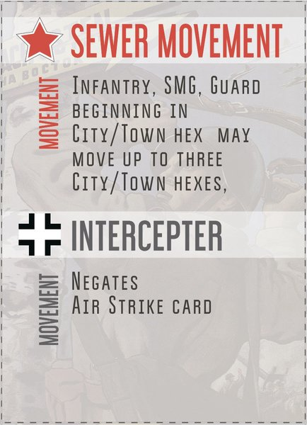 Action Card Add-On Pack for Platoon Commander Deluxe: Kursk