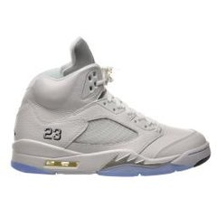 Jordan 5 Retro White Metallic 2015