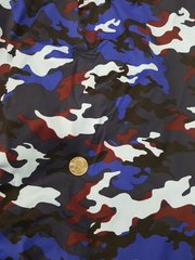 Can Am Spyder Sun Shade - Baby Blue, Royal Blue, Navy and Red Camo