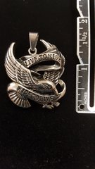 Live to Ride Flying Eagle - Pendant
