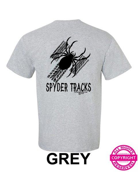 Can Am Spyder Tracks - Short Sleeve Shirt