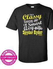Can Am Spyder - I'm a Classy Sassy and a bit Smart Assy Spyder Ryder - Short Sleeve