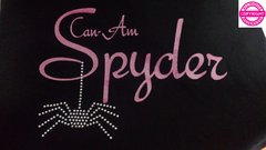 Can Am Spyder with Rhinestone Spider - Short Sleeve