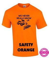 Can Am Spyder - We Never Really Grow Up - Short Sleeve Shirt