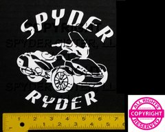 Can Am Spyder ST Limited Round Lettering Vehicle Decal Sticker