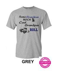 Can Am Spyder - Some Grandpas Rock Cool Grandpas Roll- Short Sleeve Shirt