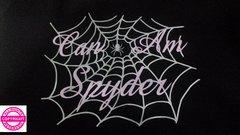 Can Am Spyder Glitter Spider Web - Shirt