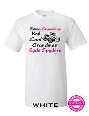 Can Am Spyder - Some Grandmas Knit - Cool Grandmas Ryde Spyders- Short Sleeve Shirt