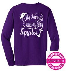 Can Am Spyder - My Favorite Accessory is my Spyder - Long Sleeve & Fleece