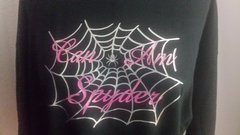 Can Am Spyder Glitter Spider Web short and long sleeve