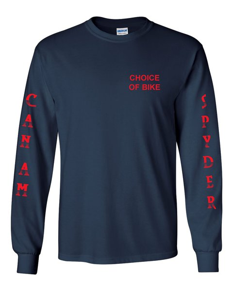 Can Am Spyder Red Design Long Sleeve
