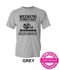 Can Am Spyder - Mens Weekend Forecast - short sleeve