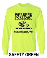 Can Am Spyder- Weekend Forecast Mens Design - Long Sleeve Shirts