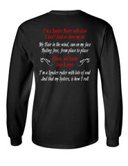 Can Am Spyder Ryder Poem Long and short sleeve shirts