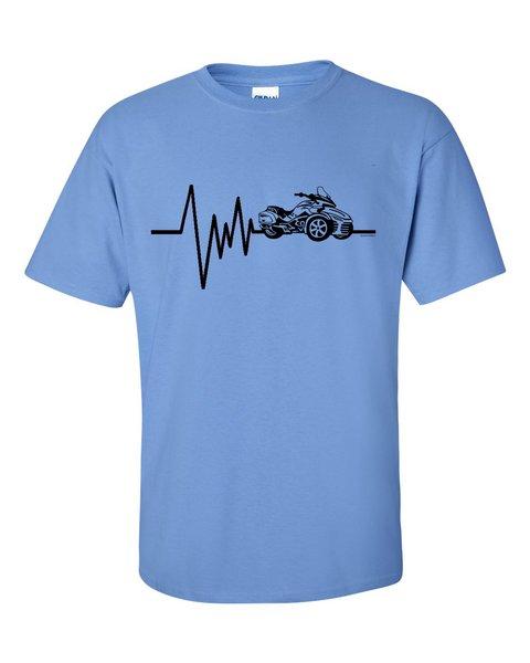 Can Am Spyder-MENS SPYDER HEARTBEAT- Short Sleeve Shirts