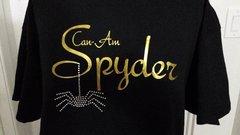 Can Am Spyder Glitter and Rhinestone Spider Sweatshirt-5 glitter colors