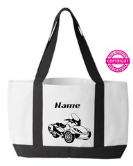 Can Am Spyder ST Limited Personalized Tote Bag