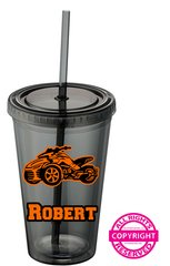 Can Am Spyder - Personalized 16oz Tumbler- Choice of Spyder