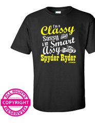 Can Am Spyder I'm a Classy Sassy and a bit Smart Assy-long and short sleeve shirts