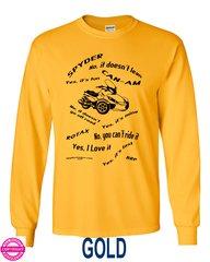 Can Am Spyder - MY RYDING SHIRT  -  Long Sleeve Shirts