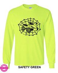 Can Am Spyder - Spider Web - Long Sleeve Shirt