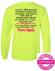 Can Am Spyder -Intimidate Me...Think Again - Long Sleeve & Fleece