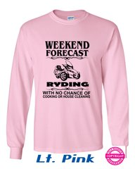 Can Am Spyder- Weekend Forecast Ladies Design- Long Sleeve Shirts