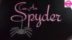 Can Am Spyder Glitter and Rhinestone Spider - Fleece
