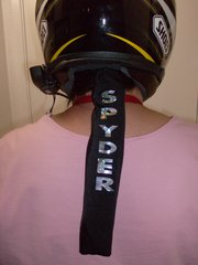 Can Am Spyder Personalized Ponytail Wrap