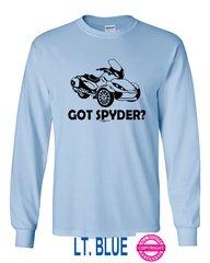 Can Am Spyder - Got Spyder? - Long Sleeve Shirt