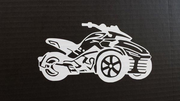 Can Am Spyder F3 Vehicle Decal Sticker