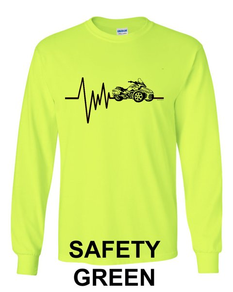Can Am Spyder- MENS SPYDER HEARTBEAT- Long Sleeve Shirts