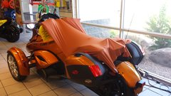 Can Am Spyder Sun Shade - Copper